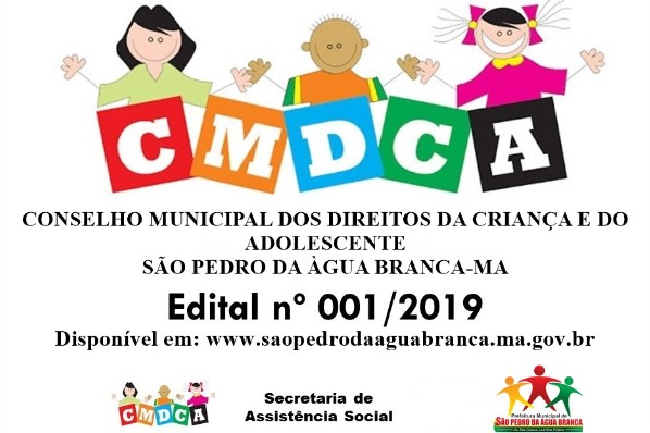 Edital 001/2019 – Eleições Unificadas para o Conselho Tutelar