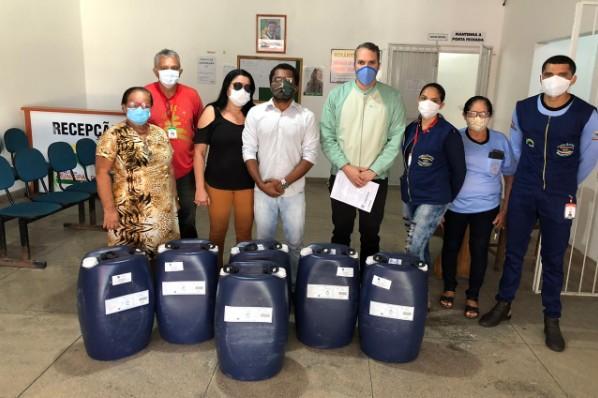 Prefeitura recebe doações da Vale no combate ao Coronavírus