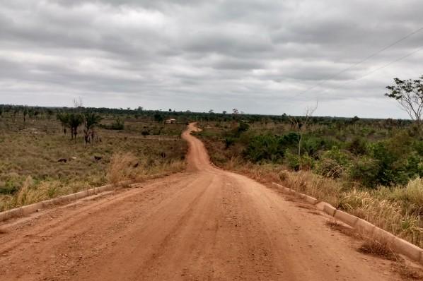 Zona rural em destaque
